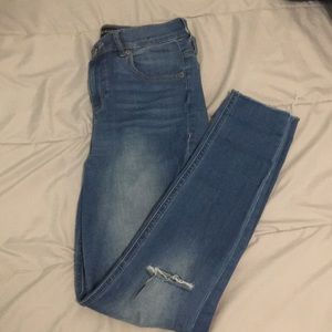 Express Women's High Waisted  Skinny Jeans Size 2R
